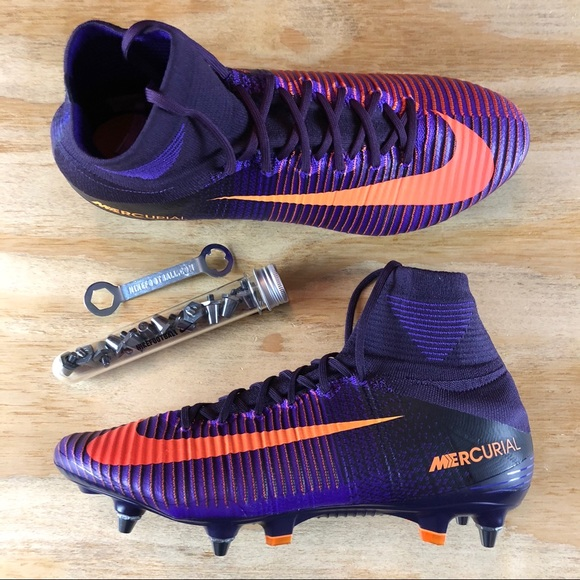 huge discount b76dc 26288 Nike Mercurial Superfly V 5 SG-Pro Soccer Cleats NWT